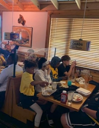 Team 304 at lunch